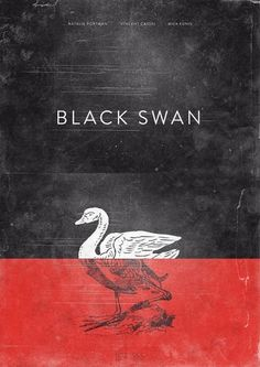Design/Inspiration #poster #black swan