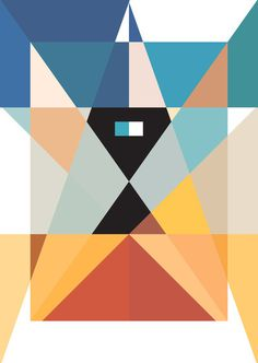 Visual Graphic Graphic Design Inspiration Blog #shapes #colours