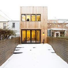 Brooklyn Row House 2 by Office of Architecture #london #design #architecture #minimalism