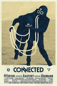 The Connected Poster (by Barq) #design #ligatures #poster #type #typography
