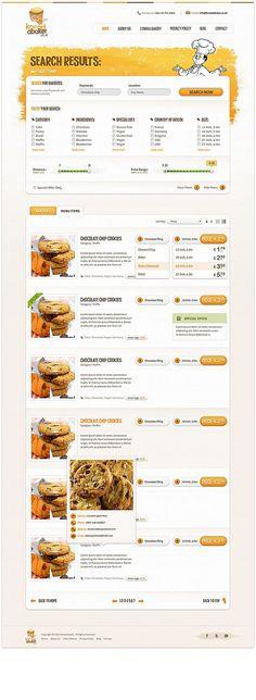 Kneadabaker by Stanislav Hristov #inspiration #creative #bakers #design #web