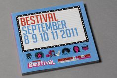 Bestival 2011 #print #layout #book #festival