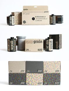 Alliteration Inspiration: Gold & Grain / on Design Work Life #packaging