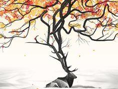 Dave Matthews Band // Toronto, Canada Poster #elk #illustration