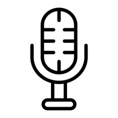 See more icon inspiration related to mic, news, report, journal, music and multimedia, reporter, electronics, television, communications, information, microphone and communication on Flaticon.