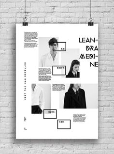 Informative Poster System on Behance #information #poster #graphic design #black #typography