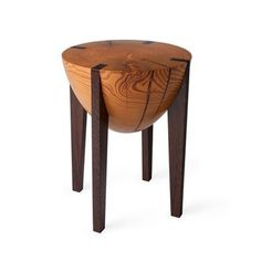 Fab.com | RD Stool Pine/Wenge #wood #furniture #design #home