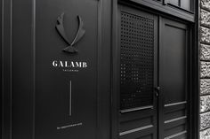 Galamb tailoring brand identity design budapest hungary mindsparkle mag black dark deluxe luxury white high end packaging business card