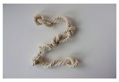 Abekilling - Marie Brodersen #knot #typeface #monkey