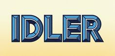 Idler - Best Sellers - Browse fonts #font #letters #typeface #type #typography