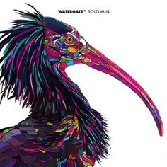 CD - Watergate #music #animal #berlin #ilustration