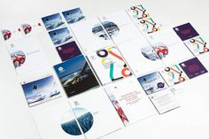 Erik Five Gunnerud #print #logo #oslo #identity #collateral #type #olympics #typography