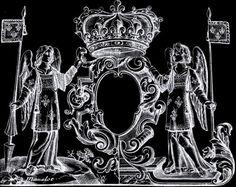 Heraldry GIF jordanlloyd #white #heraldry #& #black #gif