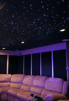 Star Ceiling - Cool Basement Ceiling Ideas #basement #ceiling #design