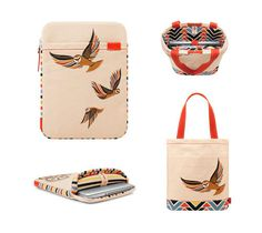 Incase Clare Rojas / Giveaway #accesories #pattern #owl #print #fashion #bag