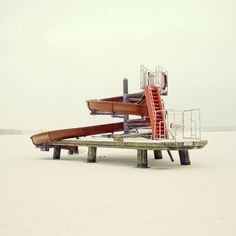 Winter Berlin on the Behance Network #heiderich #photography #berlin #matthias