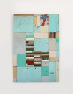 Richar Pearse, mint_1 #wood #panel #art