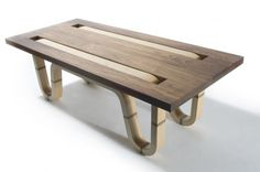Matt Finder - Complect Coffee Table #design #furniture #industrial #coffee #table