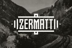 Zermatt #inspiration #type #typography