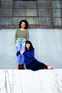 Ilana Glazer and Abbi Jacobson from 'Broad City'