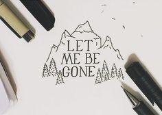 Let me be gone - by Alec Phelps