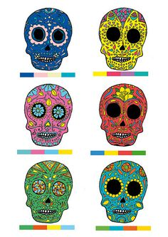 calas #color #ilustracin #diablada #handmade #ilustration #skull