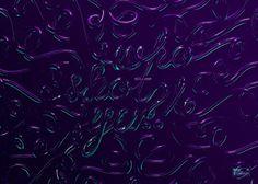 Neon Type Treatment - Digimental Studio #lettering #digimental #typography