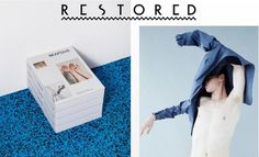 ONLINESHOPS: RESTORED.NL #restored #clothing #off #clothes #blue #man #take
