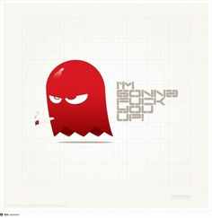 Clyde-IGFYU #ghost #red #resinism #video #gaming #pac #clyde #man #games