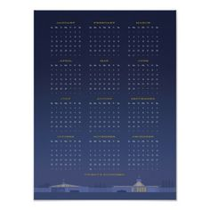 Mid Century 2014 Calendar Poster #modern #calendar #design #graphic #mid #posters #poster #century #2014 #eichler #eames