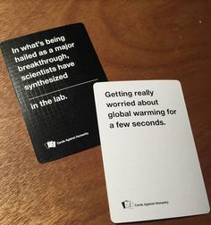 Cards Against Humanity #card #print