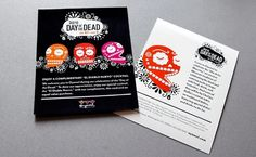Design – The General Design Company #skulls #invitation