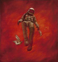 Jeremy Geddes 'Cosmonaut' Prints - mashKULTURE