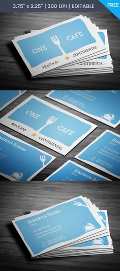 Free Beer Cafe Business Card Template