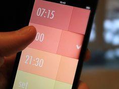 Alarm Clock (wip) #ux #ui #app #mobile #alarm