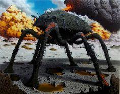 BonelliArte - Gallery #spider #painting