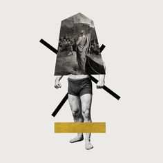 graphic design, fine art, collage, gold, jacob arden mcclure