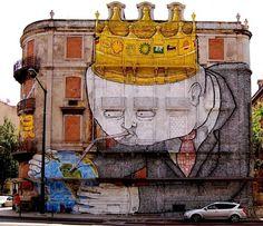 Os Gêmeos | Graffiti