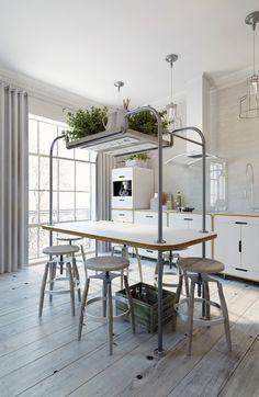 Apartment in Prague with a completely white interior - Anton Medvedev - HomeWorldDesign (1) #interior #apartments #design #prague