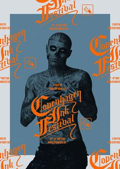 Behance :: Copenhagen Ink Festival