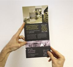 Morgan Sindall Investments Direct Mail on Behance