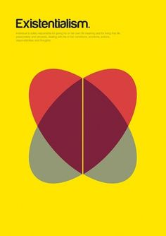 Philographics on the Behance Network | COLLECTED #existentialism #design #graphic #poster