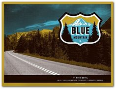 Blue Mountain : Mike Krol #mike #krol #poster