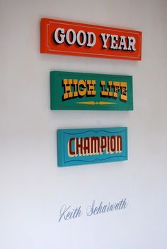 All sizes | Keith Scharwath | Flickr - Photo Sharing! #sign #type #painting #typography