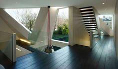 Slanted glass, so sexy. #architecture #home