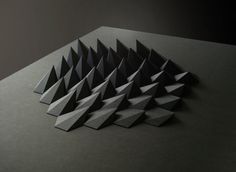 Matt Shlian | PICDIT #sculpture #design #black #art #paper
