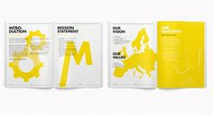 www.skidesigns.co.uk/portfolio #mag #layout #yellow