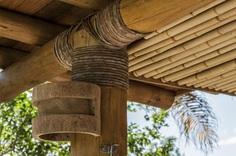 Bamboo House in Rural Brazil by Vilela Florez