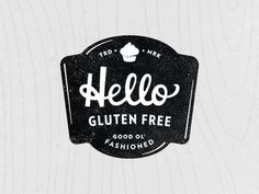 hellow gluten free #type #badge