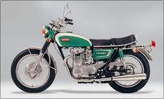 1970 Yamaha XS-1 motorcycle